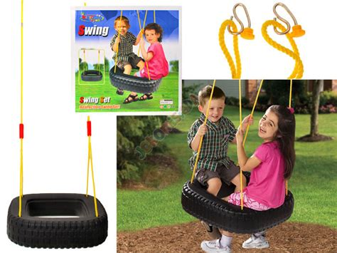 how to hang a tire swing without a tree swing big tire swing to hang sp0297 sport for children