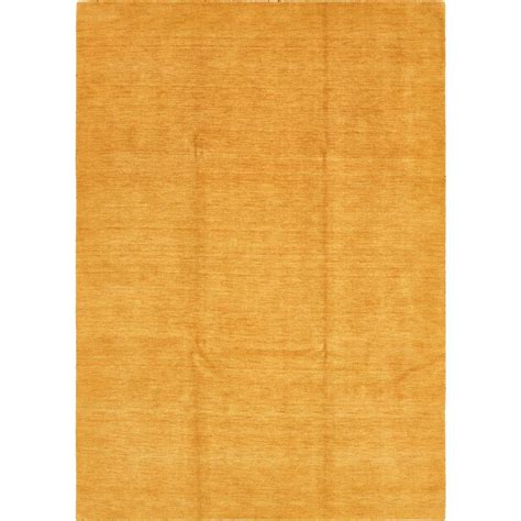 gold area rugs solid unique loom solid gabbeh gold 8 ft x 11 ft 3 in area rug 3125221 the home depot