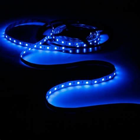 adhesive led light 16ft 300 led light roll blue 12v