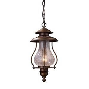 outdoor hanging light shop westmore lighting 16 in h coffee bronze outdoor