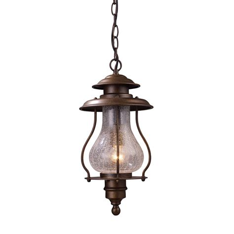 Shop Westmore Lighting 16 In H Coffee Bronze Outdoor Outdoor Pendant Light