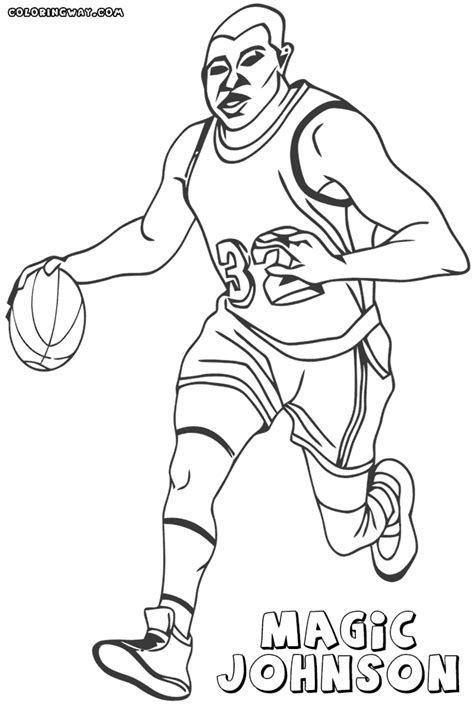 coloring pictures of nba players nba players coloring pages coloring pages to download