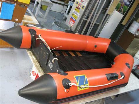 old zodiac boat photos of inflatable boat repairs marinesafe australia