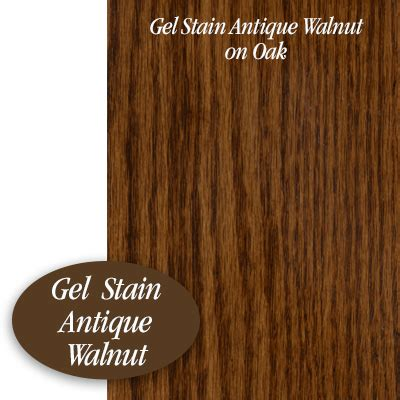 antique walnut gel stained card general finishes based gel stain antique walnut brushstrokes by