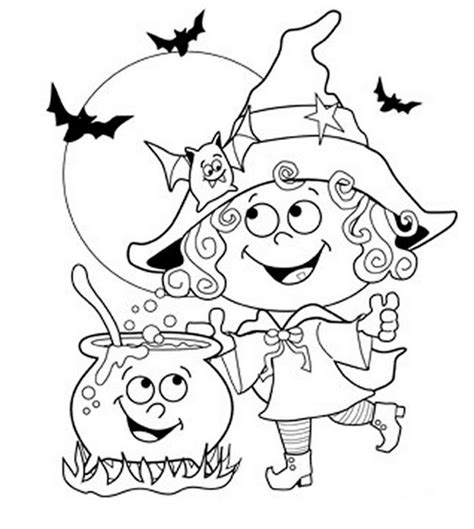 halloween coloring pages a4 omalov 225 nky čarodějnice n 225 vody pro tvořen 237 promaminky cz