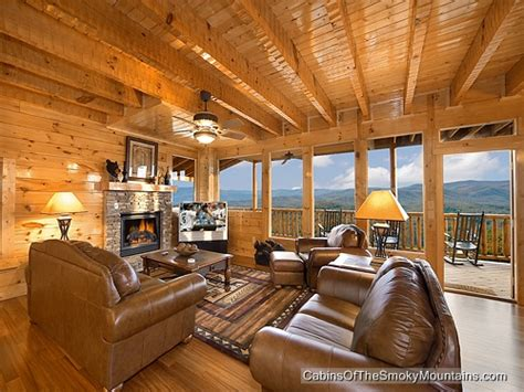 Mt Leconte View Cabin by Pigeon Forge Cabin Mt Leconte View 5 Bedroom Sleeps