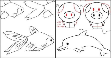 15 cara mudah menggambar hewan ini bikin gemar melukis