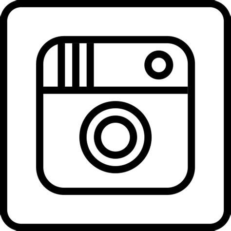 White Instagram Logo Outline by 12 Instagram Logo Icon Images Instagram Logo Vector Instagram App Icon And Instagram Logo