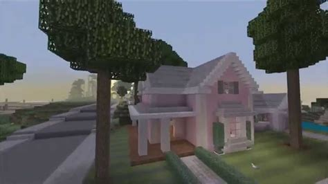 minecraft girl houses minecraft xbox 360 edition pink traditional house showcase youtube