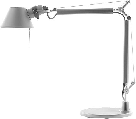 tolomeo micro table l by artemide tolomeo micro led table l aluminium by artemide