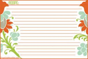 free recipe cards template help me find clean and modern recipe card templates the