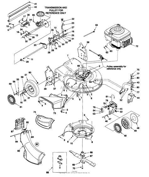 well parts diagram huskee lt4200 lawn mower parts imageresizertool