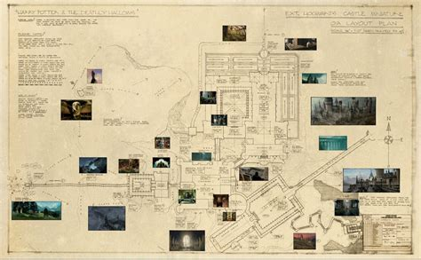 Castle House Floor Plans by Blueprint Of Hogwarts From Deathly Hallows Film Revealed