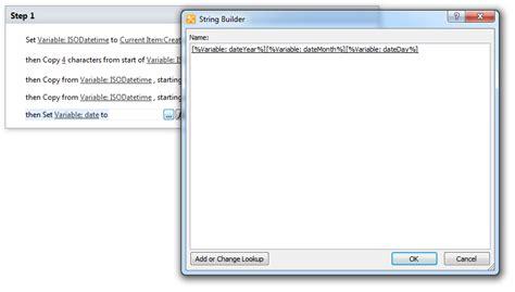 asp net workflow designer 2010 sharepoint designer set variable date to string in