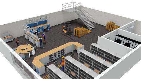 werkstatt 3d planen 3d raumplanungen lager und betriebseinrichtung