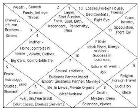 birth chart houses ॐ astrology ॐ 12 houses in birth chart