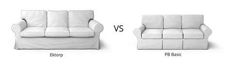 ikea ektorp sofa review ikea ektorp vs pb basic review classic sofa showdown