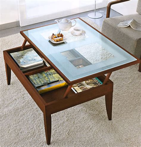 Coffee Table With Glass Top Storage Small Coffee Table With Storage Best Storage Design 2017
