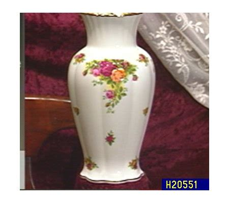 Royal Albert Country Roses Vase by Royal Albert Country Roses Montrose Vase Qvc