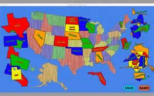 united states map puzzle 在 mac app store 上的内容