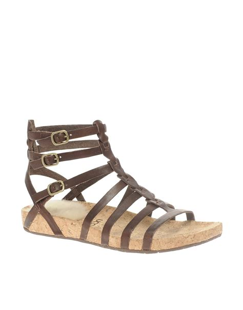 ugg mayla flat gladiator sandals