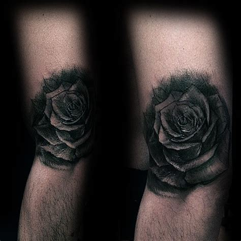 dark rose tattoos 80 black designs for ink ideas