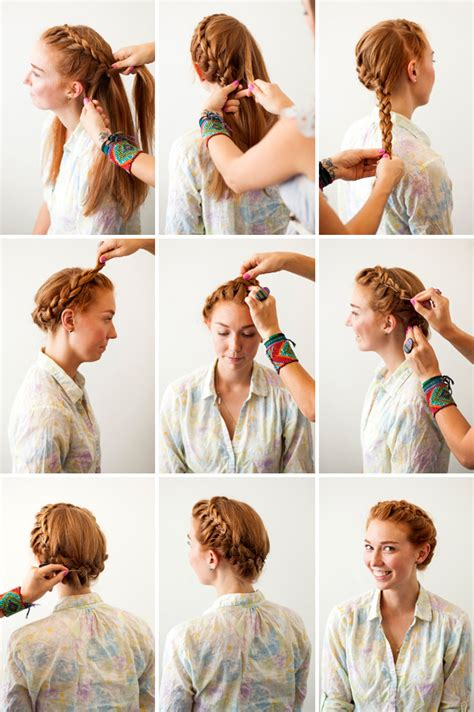 crown braid 3 new ways to add bobby pins to your