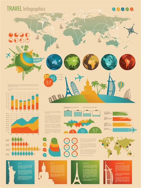 Infographic And Diagram Design Elements Vector | infographic and diagram design elements vector by
