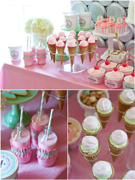 printable ice cream party decorations an ice cream parlor party desserts table party ideas