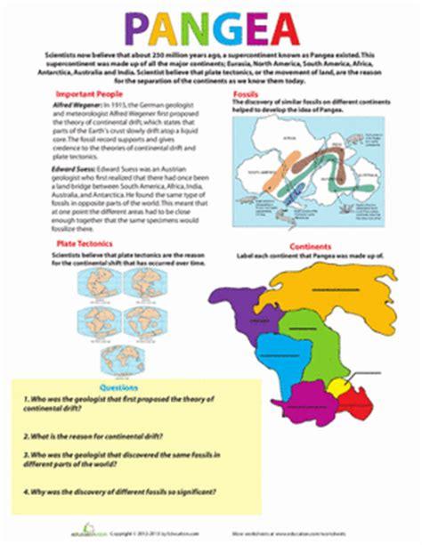 Science Worksheets Middle School by Pangea Worksheet Education