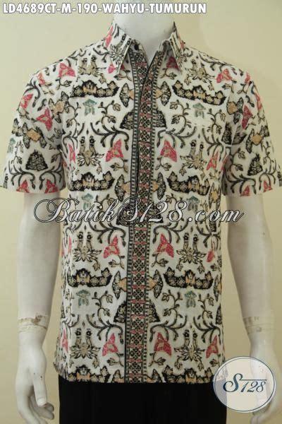 Batik Etnik Elegan batik hem bagus dan elegan motif wahyu tumurun baju batik