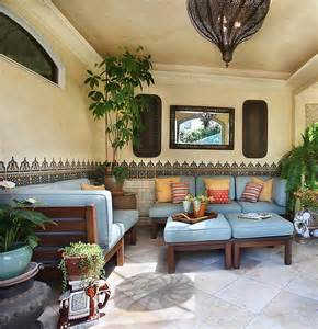 patio home decor beautiful moroccan patterns and tile enliven the cool patio decoist