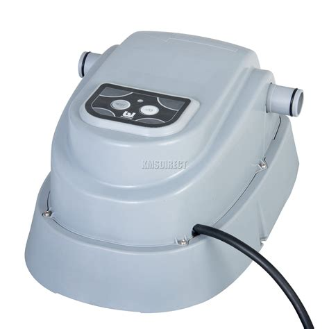 electric pool heater bestway electric swimming pool heater up to 15ft 2 8kw for