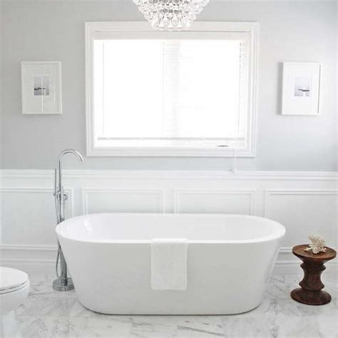 In Bathroom by Bloombety Wainscoting In Bathroom Ideas With Unique Wood