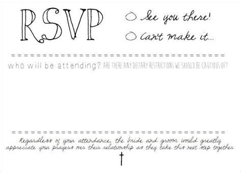 Rsvp Card Template Word by Rsvp Postcard Inserts Diy On Microsoft Word Wedding