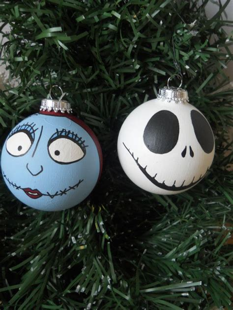 jack and sally ornament it beginning to look a lot like