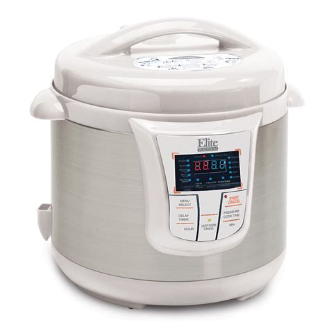 elite platinum epc 607 maxi matic 6 quart elite platinum epc 808p stainless steel 8 quart electric
