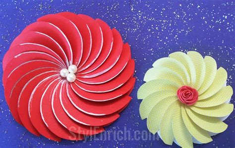 How To Make Flowers Out Of Paper Easy - how to make easy paper flowers for diy projects 183 how to
