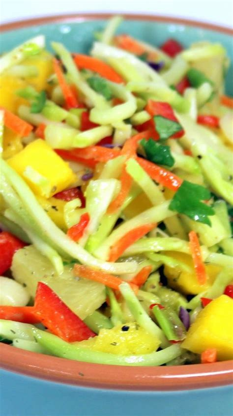 Side Suitable For A Bbq Cole Slaw by Island Lover Tropical Broccoli Cole Slaw 52 Grilling