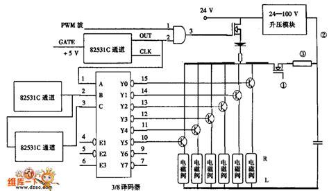 solenoid valve circuit diagram injector pulse composite circuit and solenoid valve drive