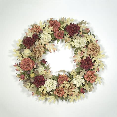 autumn wreaths autumn splendor wreath 02 wreaths unlimited