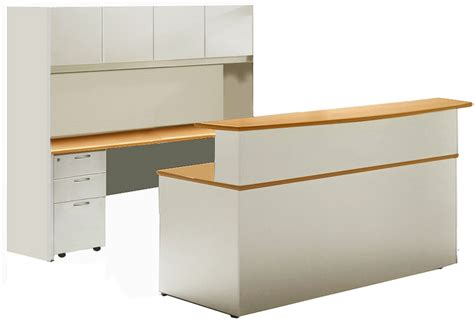Wrap Desk by Create An Impressive Reception Area With A Wrap Around