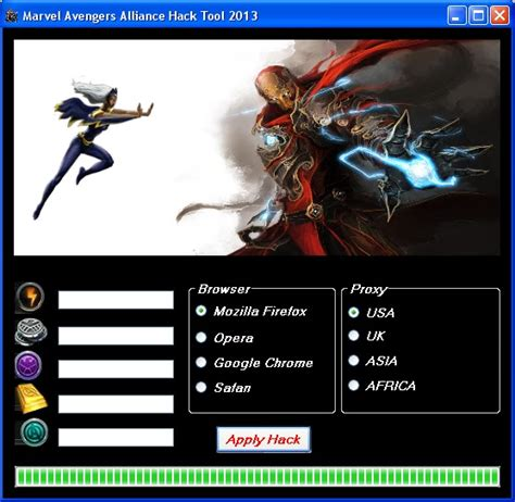 pc game mod tools marvel avengers alliance hack tool free latest game