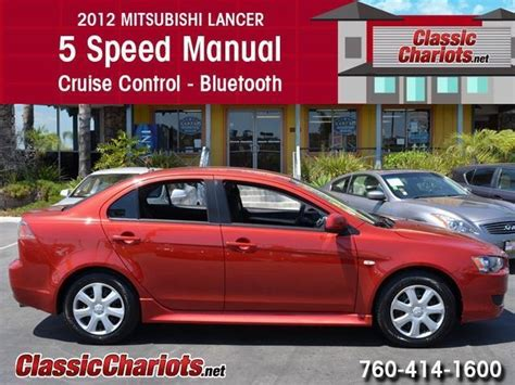 manual cars for sale 2012 mitsubishi lancer auto manual sold used car near me 2012 mitsubishi lancer es with 5 speed manual cruise control and