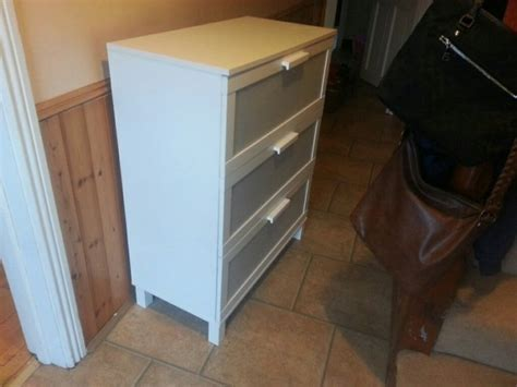 chest of drawers white aneboda for sale in navan