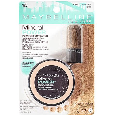 Bedak Maybelline Mineral Power maybelline mineral power foundation www pixshark