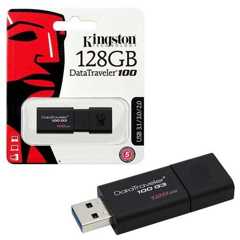 Flashdisk Kingston 16gb Usb 3 0 Ori Datateaveler 100 G3 1 kingston data traveler 100 g3 usb 3 0 memory sticks 8gb