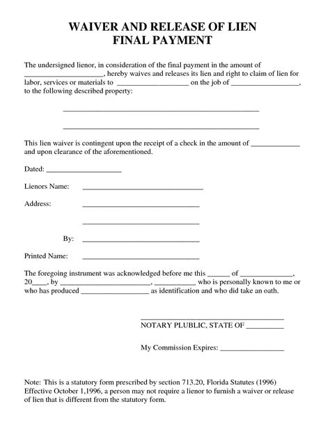 best photos of waiver of property template liability