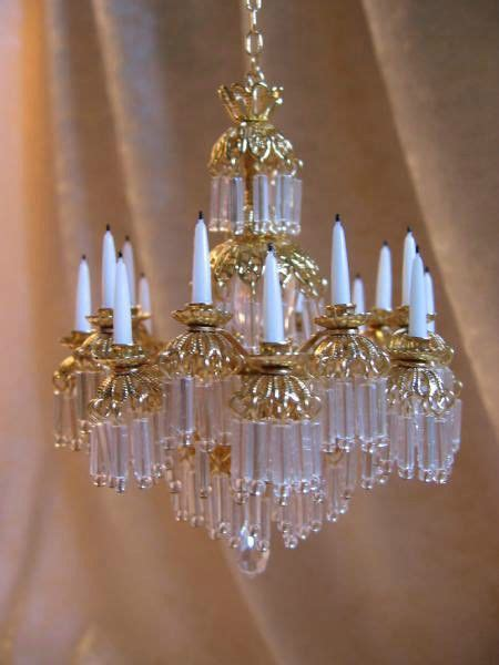 dollhouse chandelier dollhouse doll house miniature chandelier