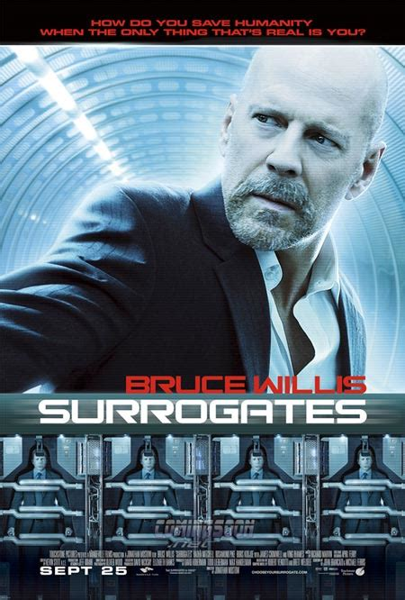 Film Robot Bruce Willis | surrogates 2009 shut up and watch the movie